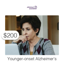$200 Charitable Donation For: the 200,000 diagnosed under age 65