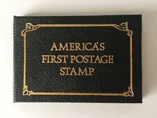 America's First Postage Stamp 5c Used F/VF Issued 1847 In Postal Comm Soc Album