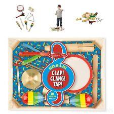 Mini Music Instrument Kits Playing Kids Toys Rhythm Children Band Box Gift Child