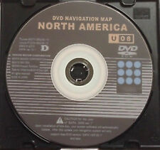 New 2014 Generation 2/3 Toyota Lexus Navigation Map Update DVD West Ver 13.1 U08