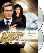 JAMES BOND: OCTOPUSSY (ROGER MOORE) 2 DISC ULTIMATE & RESTORED *NEW DVD SET*