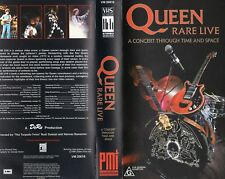 QUEEN RARE LIVE -A Concert Through -VHS-PAL-N&S-Never played-Original Oz release