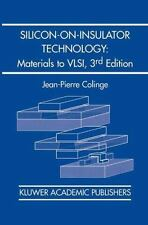 Silicon-On-Insulator Technology: Materials to VLSI : Materials to VLSI by J....