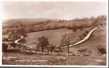Broadway, Worcestershire - Road to Fish Inn / Fish Hill - RP postcard c.1940s
