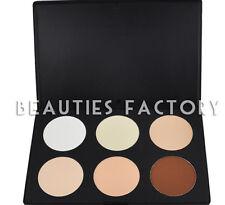 6 color de contorno Cosmético Profesional Maquillaje Paleta # 1 & Perfecto el tono de piel # 616