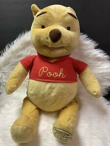"Fisher Price Celebrating 80 Years of Friendship 24"" Disney Winnie the Pooh Plush"