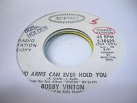 Pop Promo 45 BOBBY VINTON No Arms Can Ever Hold You on