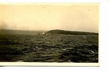 Straights of Georgia-British Columbia-Canada-RPPC-Real Photo Vintage Postcard