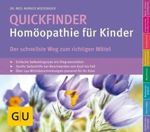 Quickfinder Homöopathie für Kinder, 2019/20 Dr Wiesenauer, GU, wie neu UNGELESEN
