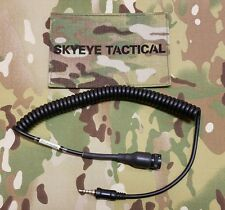 SKYEYE Tactical NACRE QUIETPRO YAESU VX-6R/7R Radio Cable. AOR LBT