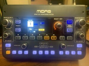 MIDAS DP48 48 Channel Monitor Mixer   Behringer X32 Wing w/ mnt brkt  P16 IEM