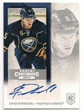 Chad Ruhwedel 13-14 Panini Contenders Rookie Ticket Autograph Signature Retail