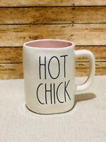New Rae Dunn By Magenta HOT CHICK Pink Mug Interior Spring Easter Farmhouse