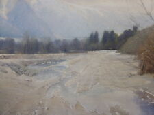 IMPRESSIONISTIC VIEW LISTED ARTIST PHOEBE GIBSON  FREE SHIPPING TO ENGLAND