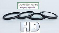 HD CLOSE-UP MACRO LENS SET (+1 +2 +4 +10) FOR OLYMPUS E-620 E-520 E-420
