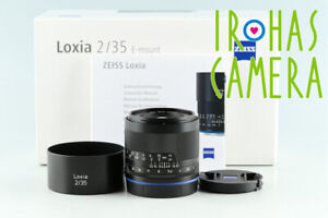 Zeiss Loxia Biogon T* 35mm F/2 Lens for Sony E With Box #33162 L7
