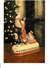 "NWT Pam Schifferl for Bethany Lowe Designs ""Santa Pulling Sled"" - Nice!!"