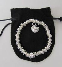 Pulseras de bisutería brazaletes color principal plata sin piedra
