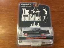 Greenlight super chase Hollywood Godfather 1955 Cadillac Fleetwood red tires