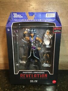 MASTERS OF THE UNIVERSE REVELATION MASTERVERSE EVIL-LYN IN HAND!
