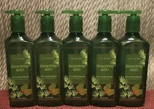 5 BATH & BODY WORKS DEEP CLEANSING HAND SOAP EUCALYPTUS MINT WITH ESSENTIAL OILS