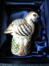 ROYAL WORCESTER MILLENNIUM LTD. EDITION PARTRIDGE IN PEAR TREE CANDLE SNUFFER  *