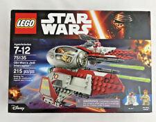 Disney Star Wars LEGO Obi-Wan Jedi Interceptor 215 Pcs NEW NIB Obi Wan Kenobi