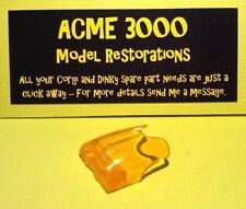 Corgi 268 Batman Batbike Replacement Repro Orange Plastic Windscreen Unit