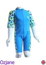 BOYS UV 50+ SUN PROTECTION SUIT SWIMWEAR SWIMMING ONE PIECE 5 TO 6 YR 5-6 OZCOZ