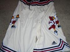 Louisville Cardinals Basketball Chinanu Onuaku Game used Throwback Shorts Choice