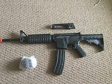 Colt M4A1 Metal, Fully Automatic Airsoft Gun, Carrying Handle, Stock, Battery