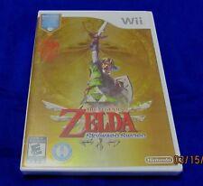 Wii - Legend of Zelda: Skyward Sword ~ Brand New Factory Sealed Game + Music CD
