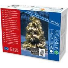 """Konstsmide Micro LED Büschellichterkette""""Cluster"""" für Außen 576 warm weiße Diod"""