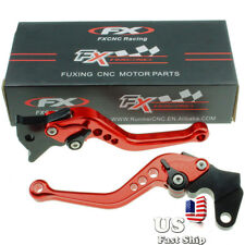 CNC Clutch Brake Levers  Yamaha RAPTOR 660 2001 2002 2003 2004 2005 2006 Red US