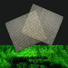 1/10Pcs Aquarium Stainless Wire Mesh Pad Aquatic Moss Plants Landscape Decor