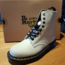 Dr Martens 1460 Pascal PU Glitter White Purple Womens Boots Size 6 Seconds £80