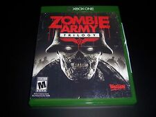 Replacement Case (NO GAME) ZOMBIE ARMY TRILOGY XBOX ONE 1 - 100% Original Box