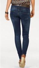 Herrlicher Jeans W26 L32 Stretch Denim Gila Slim 5606 Mid Blau Used Hose Top NEU