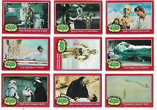 Star Wars : Series 2 (Red) Complete 66 Bubblegum Card Set Topps - 1977 NM/MINT