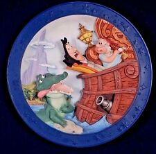 Disney ...It's the Croc! Tic-Toc-Tic-Toc Collectible Relief Plate - LE #524/7500