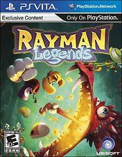 NEW Rayman Legends  (PlayStation Vita, 2013) NTSC