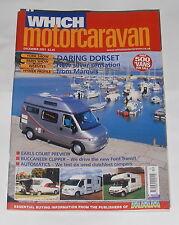 WHICH MOTORCARAVAN - DARING DORSET  - DECEMBER 2001