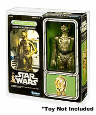 Star Wars C-3PO 12 Inch Series Doll Display Case (Large Size Action Figure)