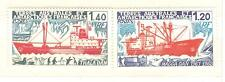 TIMBRES TAAF POSTE  N° 66 A 67  ** BATEAUX