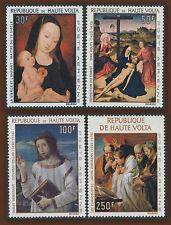 1967 HAUTE VOLTA PA N°42/55** Tableaux,  1967 Upper Volta Paintings MNH
