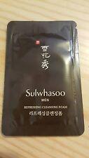 NEW Sulwhasoo Men Refreshing Cleansing Foam (Korean Skincare Cosmetic Brand)