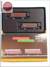 Z 1:220 Märklin mini-club escala vagones freight cars models Set 82560 DRG <
