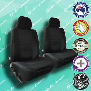 SSANGYONG KORANDO, BLACK FRONT CAR SEAT COVERS, HIGH QUALITY ELEGANT JACQUARD