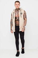 Sudadera con cremallera para hombre CRS55 sin mangas chaleco 'claremount' - Oxford Tan