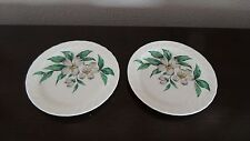 Royal China USA Dogwood Pattern Bread Plates x 2
